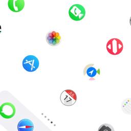 Circular Icon Theme Theme By Luka Fon Install This Ios Theme Without Jailbreak On Your Iphone Or Ipad