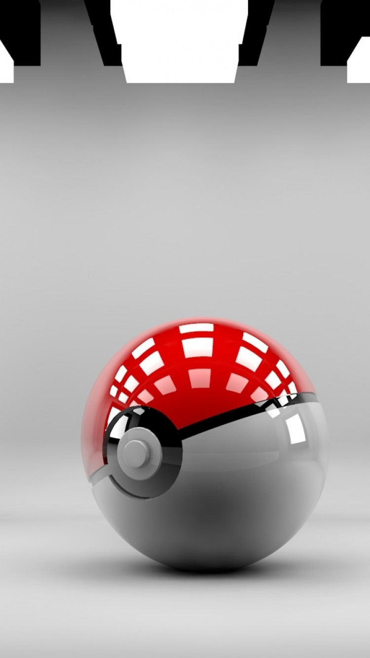 Pokeball Pokemon Go Homescreen For Iphone 6 From Cyfis Gameroom Hd Ios Theme